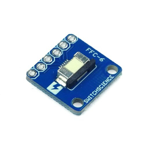FeliCa RC-S620S/RC-S730 ピッチ変換基板のセット(フラットケーブル付き)