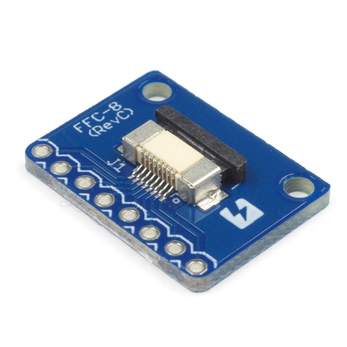 FeliCa Plug pitch converter board set (with flat cable)