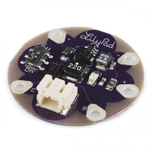 LilyPadリチウムイオンポリマー電池用DC-DCコンバータ「LiPower」--在庫限り