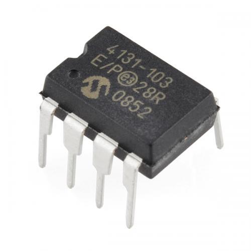 MCP4131デジタルポテンショメータ 10KΩ