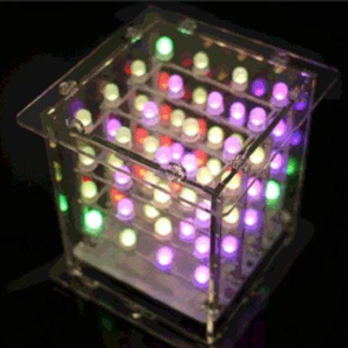 レインボーキューブキット - RGB 4X4X4--在庫限り