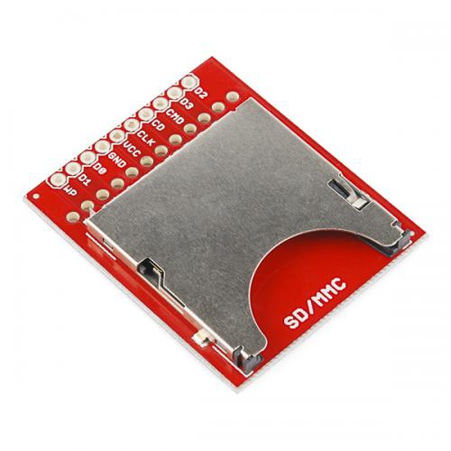 SparkFun SDカードスロット・ピッチ変換基板--販売終了