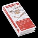抵抗キット1/4W (20種計500本入り)