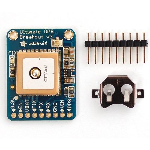 Adafruit Ultimate 66チャンネル10Hz GPSモジュール Version 3