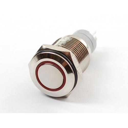 LED付きON/OFFスイッチ(赤)