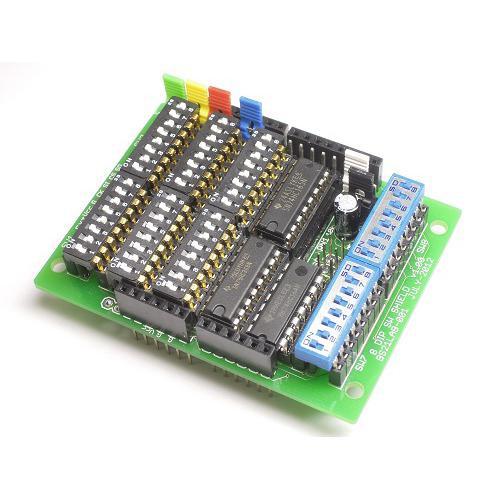 Arduino 用 8 DIP SW シールド(+8 DIP SW 付属版)