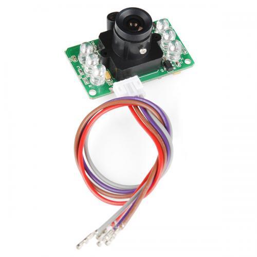LinkSpriteシリアル接続JPEGカラーカメラ(赤外線LED付き)--在庫限り