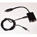 HDMI to VGA変換アダプタ(オーディオ出力付き)