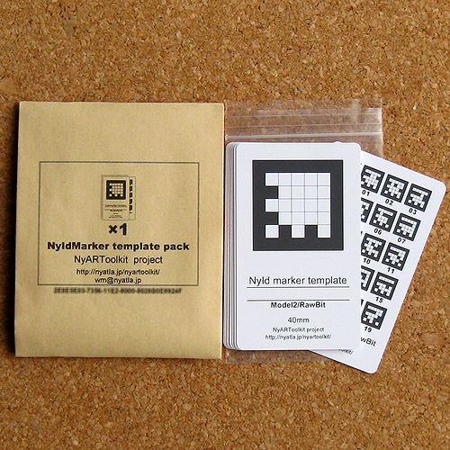ARマーカーカードセット(NyIdテンプレートカードセット)