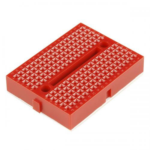 SparkFun 超小型ブレッドボード(赤)--販売終了