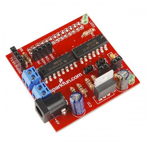 Raspberry Pi用モータードライバボード(キット)--販売終了