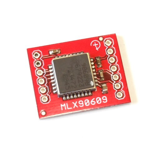 MLX90609搭載デジタルジャイロモジュール(最大±300°/sec)--販売終了