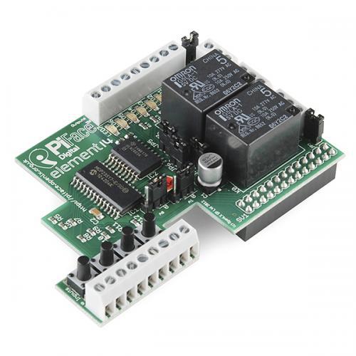 PiFace デジタルI/O拡張ボード(リレー付き)--在庫限り