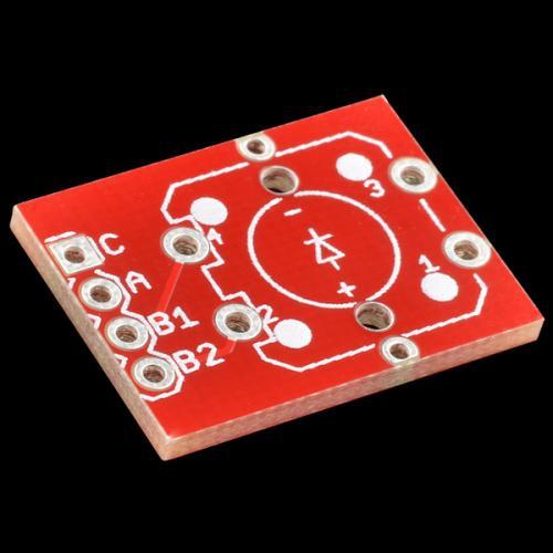 LED付きタクトスイッチ用ピッチ変換基板
