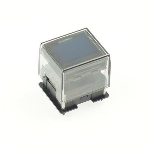 OLEDディスプレイ内蔵押ボタンスイッチIS-C15ANP4