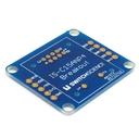 OLED内蔵スイッチIS-C15ANP4用ピッチ変換用基板(基板のみ)