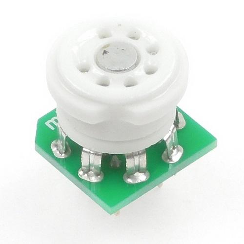 真空管ブレッドボードアダプタ mT7基板タイプ 完成品