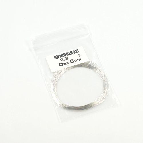 OneCoin 鉛フリー糸はんだ  0.3mm