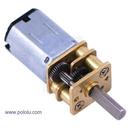 75:1 超小型メタルギアドモーター HP