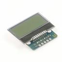 I2C接続の小型LCD搭載ボード(5V版)