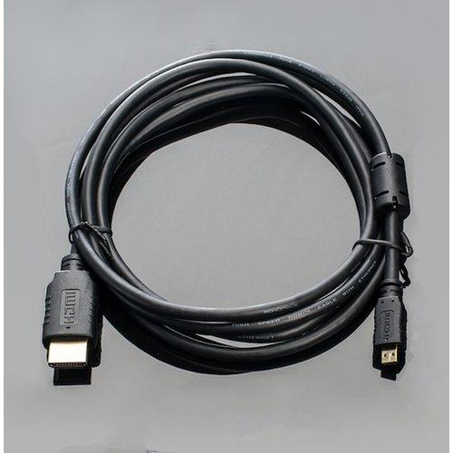 HDMIケーブル(標準-Micro)2m