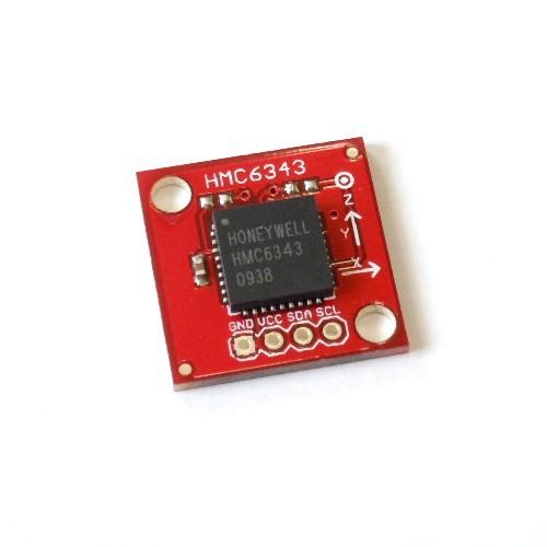 HMC6343搭載傾き補償付きデジタルコンパスモジュール --販売終了