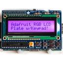 Raspberry Pi用I2C接続のLCDキット(RGBバックライト・黒文字)