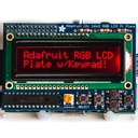 Raspberry Pi用I2C接続のLCDキット(RGBバックライト・反転タイプ)
