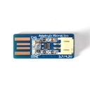 Adafruit USB端子に直接つながるリチウムイオン電池充電器