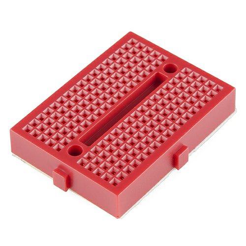 SparkFun 超小型ブレッドボード(赤)