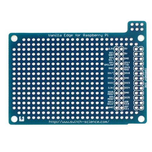 バニラエッジ Raspberry Pi用ユニバーサル基板--在庫限り