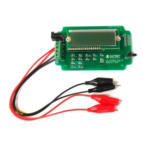 バッテリテスタ・内部抵抗計測器 IW7807 完成版