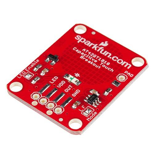 AT42QT1010 静電容量式タッチセンサ