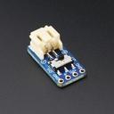 2ピンJST-PHコネクタ・ピッチ変換基板(スイッチ付き)