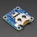 12mmコイン電池・ピッチ変換基板(スイッチ付き)
