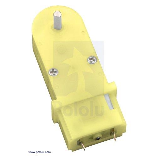 180:1 小型プラスチックギアドモーター(90度)
