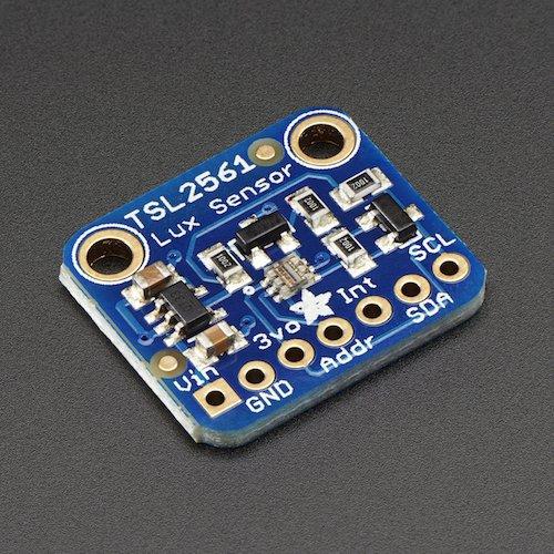 Adafruit TSL2561 デジタル光センサ--販売終了