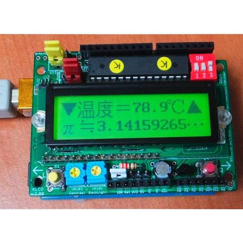 漢字LCDシールドv2