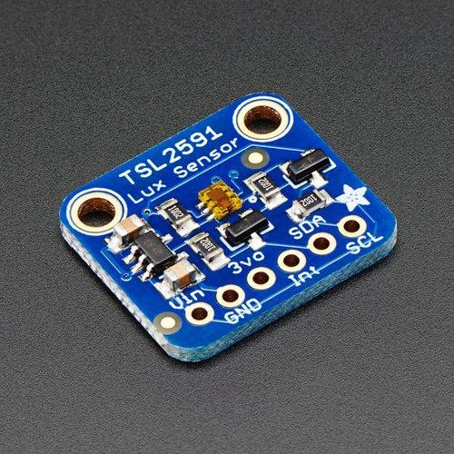 Adafruit TSL2591 デジタル光センサ