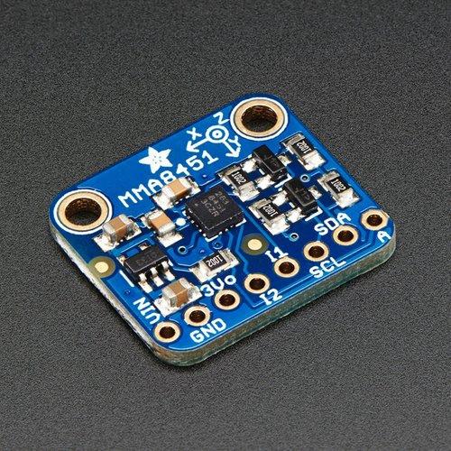 Adafruit MMA8451 三軸加速度センサ