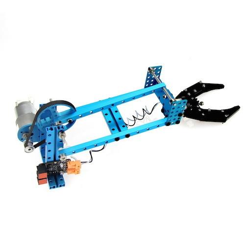 Makeblock ロボットアーム 追加パック for スターターロボットキット(ブルー)--在庫限り