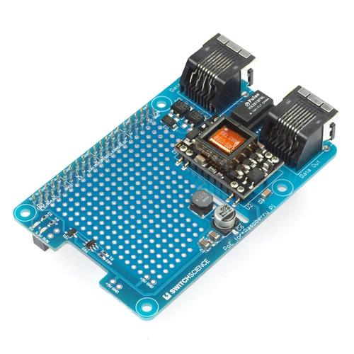 PoE adapter board for Raspberry Pi model B+