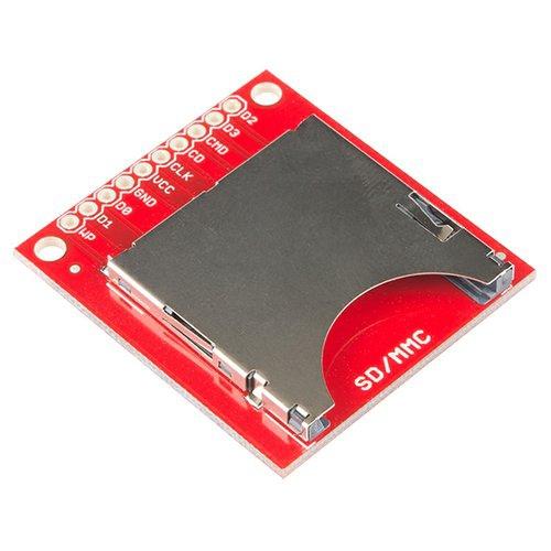SparkFun SDカードスロット・ピッチ変換基板--在庫限り