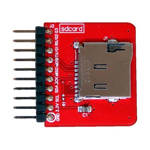 Tessel MicroSDカードソケット--在庫限り