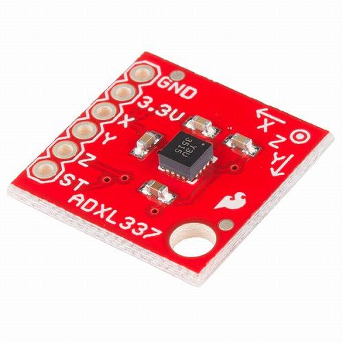 ADXL337搭載三軸加速度センサモジュール