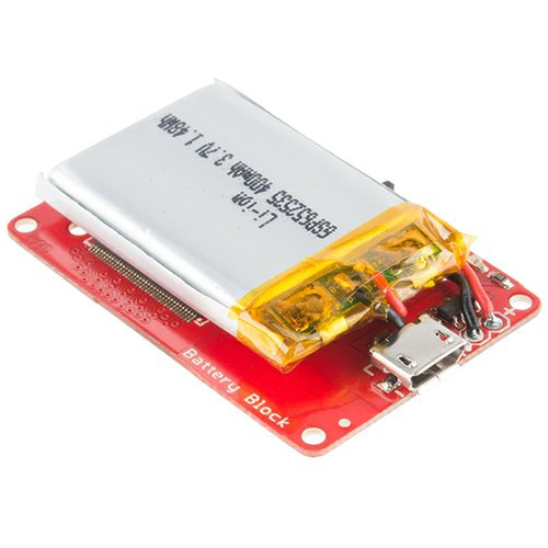 Intel Edison Block - Battery--在庫限り