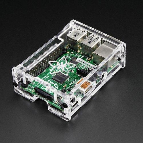 Pi Box - Raspberry Pi B+用ケース(透明)