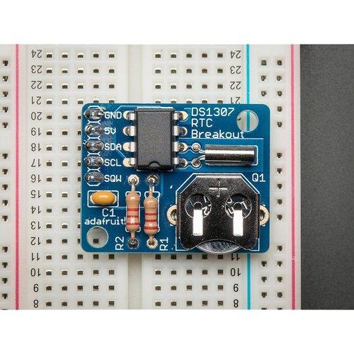 DS1307搭載リアルタイムクロックモジュール キット--販売終了