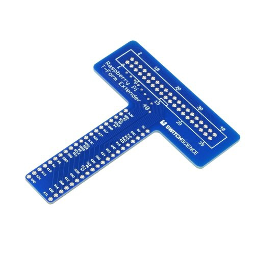Raspberry Pi B+用T型I/O延長基板
