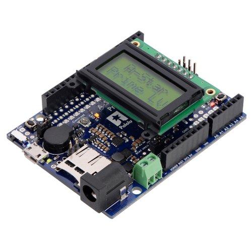 A-Star 32U4 Prime LV microSD with LCD--在庫限り